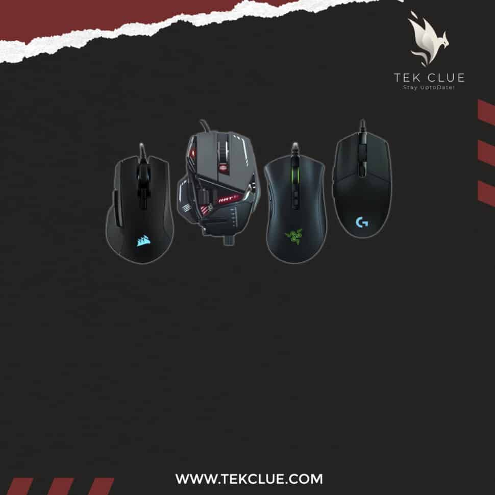 Best Gaming Mouse - Wired and Wireless gaming mice 2021