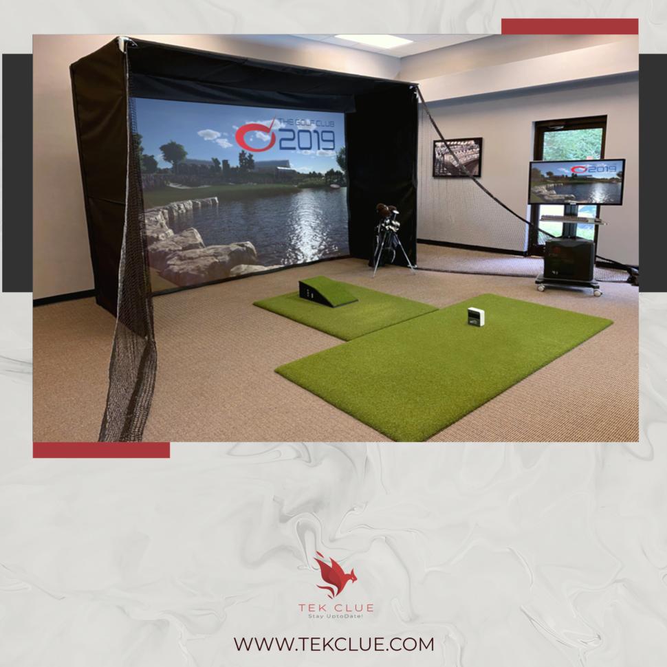 Best short throw projector for golf simulator